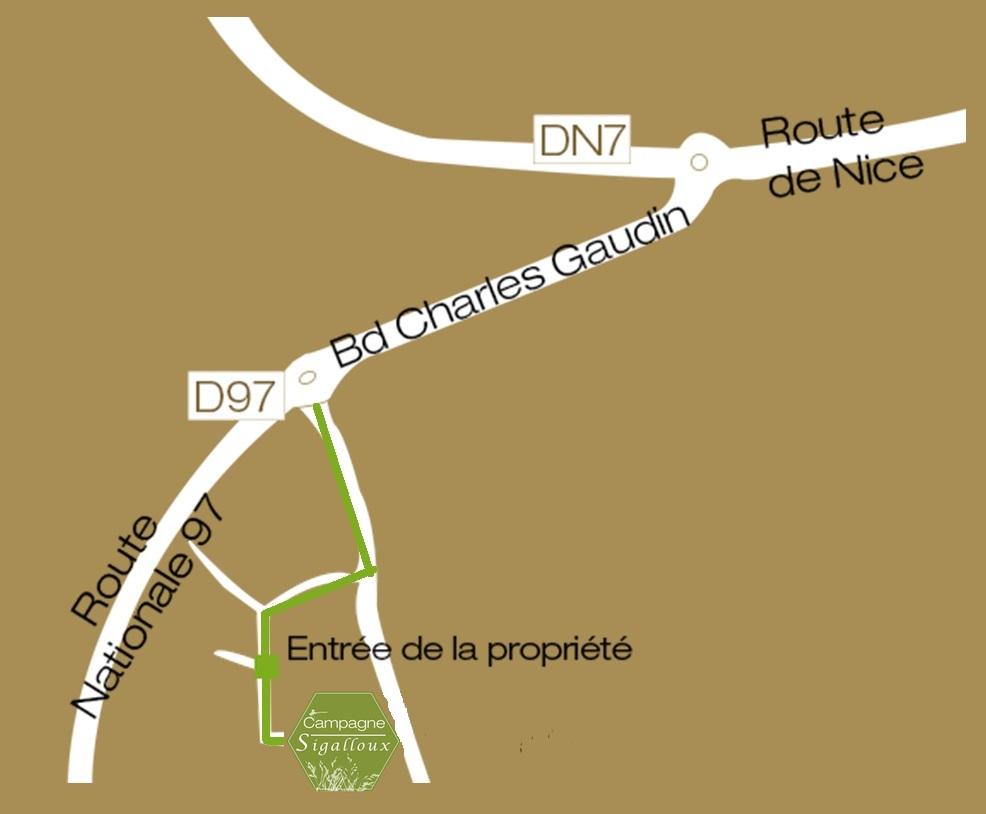 plan accès 1